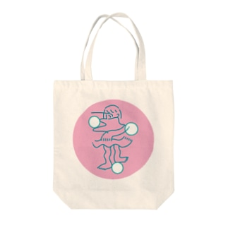 kimino balance Tote bags