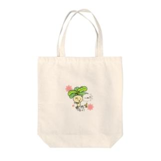 オリジナルマンドラゴラ Tote bags