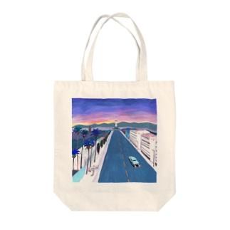 kyoto keyvisual Tote bags