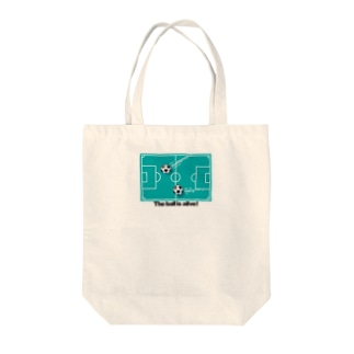 THE BALL IS ALIVE! Tote bags