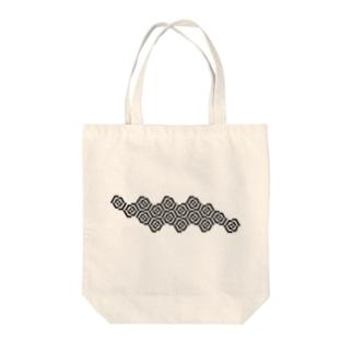 六角形の幾何学模様 Tote bags