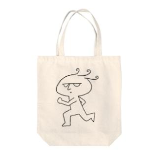 そそくさ改(モノクロ) Tote bags