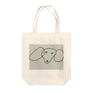 いぬ Tote bags