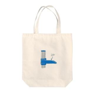 身長測るやつのコレ Tote bags