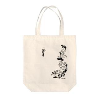 3匹の猫 Tote bags