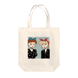 TERADA の50s rocabilly girls Tote bags