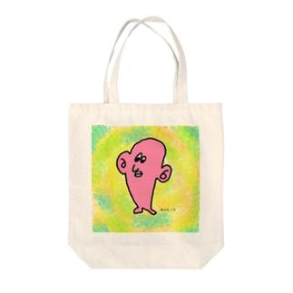 コソコソ Tote bags
