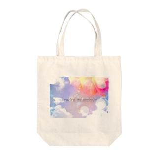 kirakira*melancholin ロゴ1 Tote bags