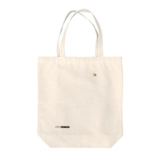 ミルクチョコロゴグッズデザインA Tote bags