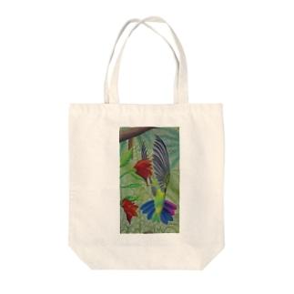 トロピックバード Tote bags