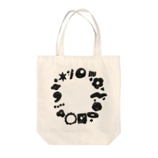 わくわくリース Tote bags