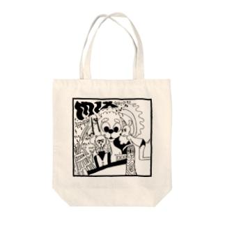 わんちゃんMIX Tote bags
