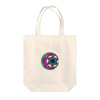 毒花 Tote bags