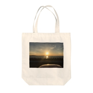 沈む太陽 Tote bags