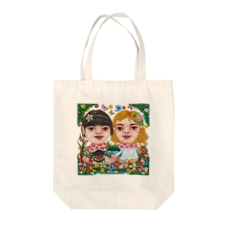 Life is きのこ Tote bags