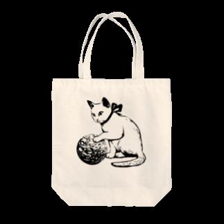 金星灯百貨店のボール遊び 黒線 Tote bags