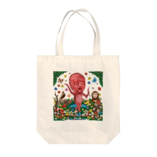 タコちゃんダンス Tote bags