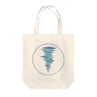 unbalance Tote bags