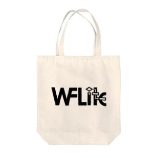 ArazonのWFLite Black Tote bags