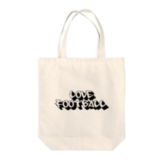 love football Tote bags