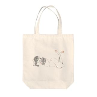 人魚になりたかった人 Tote bags