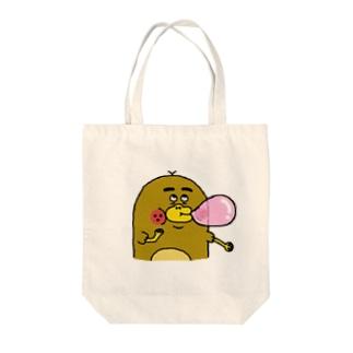 カモノハシのモカちゃん Tote bags