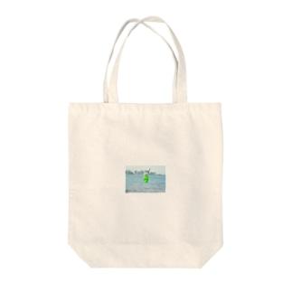 海とメロンクリームソーダ Tote bags