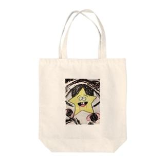 やんでれ星 Tote bags