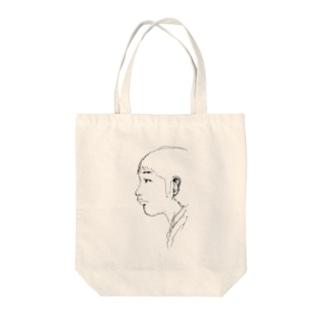 男性横フェスタ Tote bags