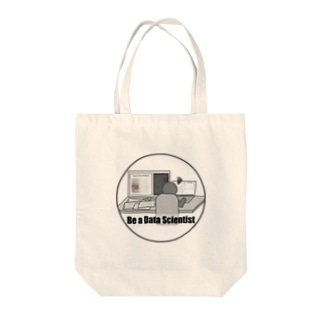 Be a Data Scientist Tote bags