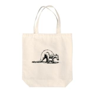素敵なカンガルー Tote bags