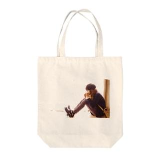 まどぎわ まっしゅ Tote bags