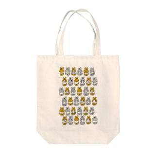 はちわれちゃん(茶・クリア) Tote bags