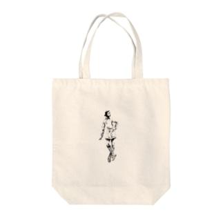 操り少女 Tote bags