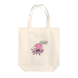 Let me suck your toes Tote bags