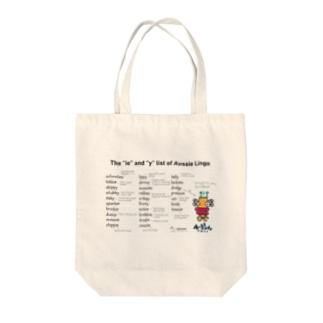 Aussie Lingo Tote bags