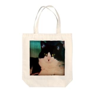 キメ顔 Tote bags