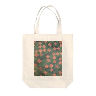 モヨウ2 Tote bags