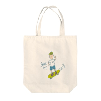 SKATER BOY Tote bags