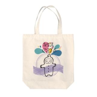 baby uta Tote bags