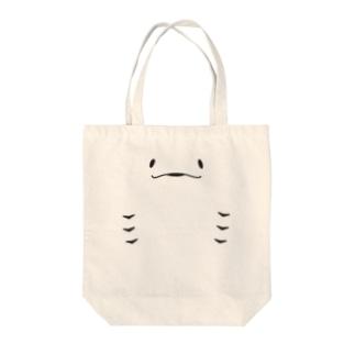 にっこりエイ【淡色用】 Tote bags