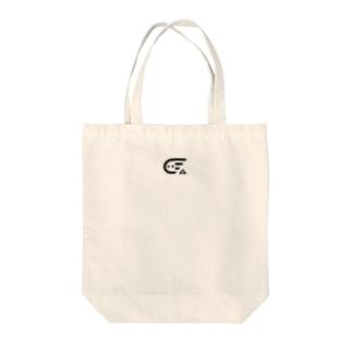 しけ丸 ロゴ(Black) Tote bags