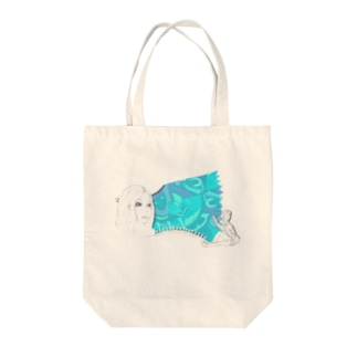 aoiコラボ Tote bags