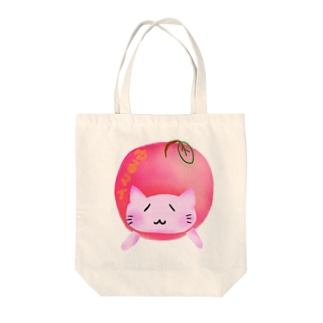 ©️ゆるマイ  りんご猫 Tote bags