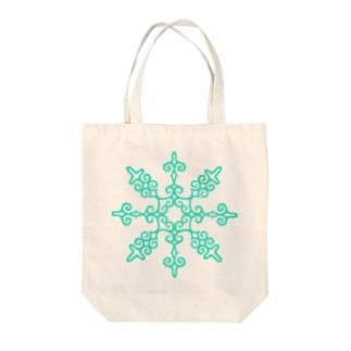 北の六花  Tote bags