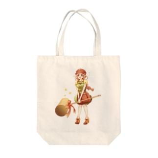 おどおど可愛い女の子 Tote bags