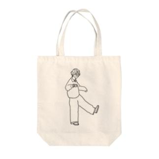 ハタチ。 Tote bags