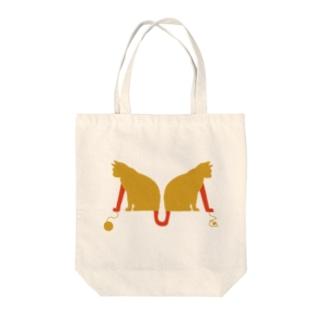 nekoローマ字-M- Tote bags