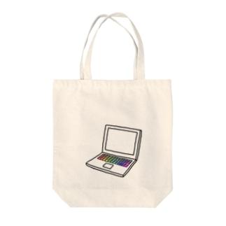 ノートパソコン Tote bags