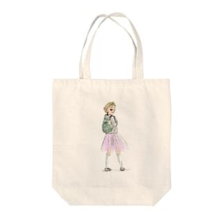 プリンセス・ティーンエイジャー Tote bags